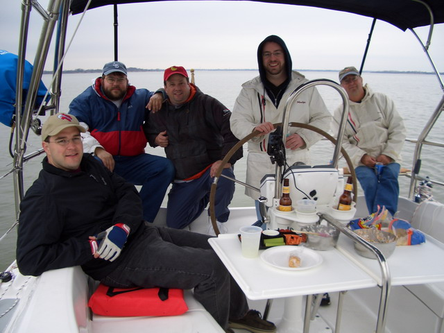 Sailing on Lake Lavon